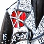 "QLOZET NEWS: [USED]""EXPLOITED"" STUDS PAINT RIDERS JKT"