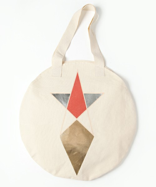 COSMIC WONDER Light Source ACCESSORIES / PENTAGRAM PRINT CIRCLE TOTE BAG (ZOZOTOWN / CWLS LIMITED)(エコバッグ) - ZOZOTOWN