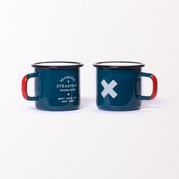 Best Made Company — Seamless & Steadfast Enamel Steel Cups (Set of Two)