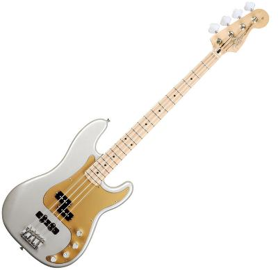Fender Deluxe Active P Bass Special Blizzard Pearl Maple Neck at instruments2go.co.uk