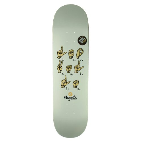 "MAGENTA - COMMUNICATION series ""Leo Valls"" (7.875 X 31.5) - Growth skateboard elements"
