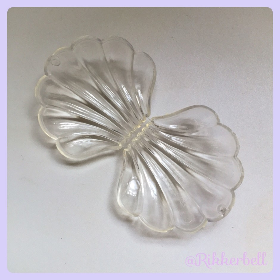Shell Plastic Candy Box S Clear - plamode