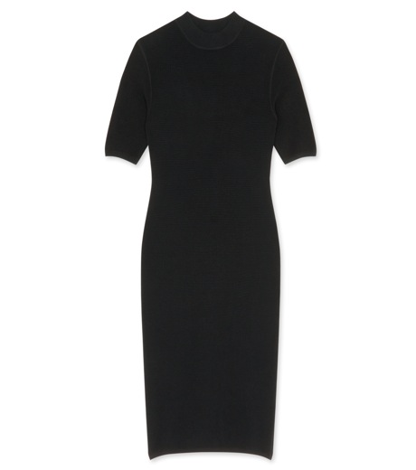 T by Alexander Wang - ティーバイ アレキサンダーワン - Short sleeve thermal dress | RESTIR.COM