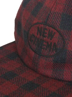 "LOVE online store|MEN  NEW CINEMA"" BB CAP by GOOFY CREATION (red)"