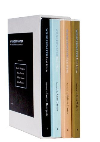 Roni Horn: Wonderwater (Alice Offshore): Amazon.co.uk: Louise Bourgeois, Anne Carson: Books