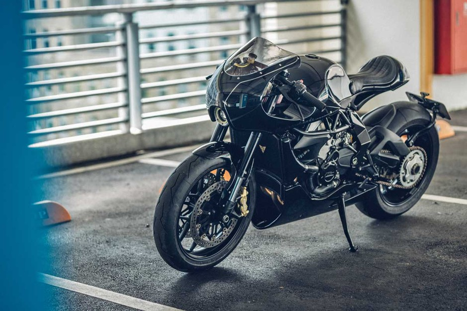 One Hand Made - MV Agusta Brutale | Return of the Cafe Racers