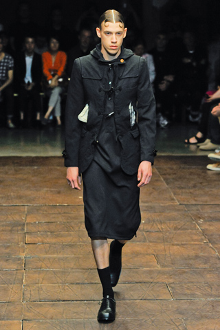Comme des Garcons Spring 2012 Menswear Collection Slideshow on Style.com