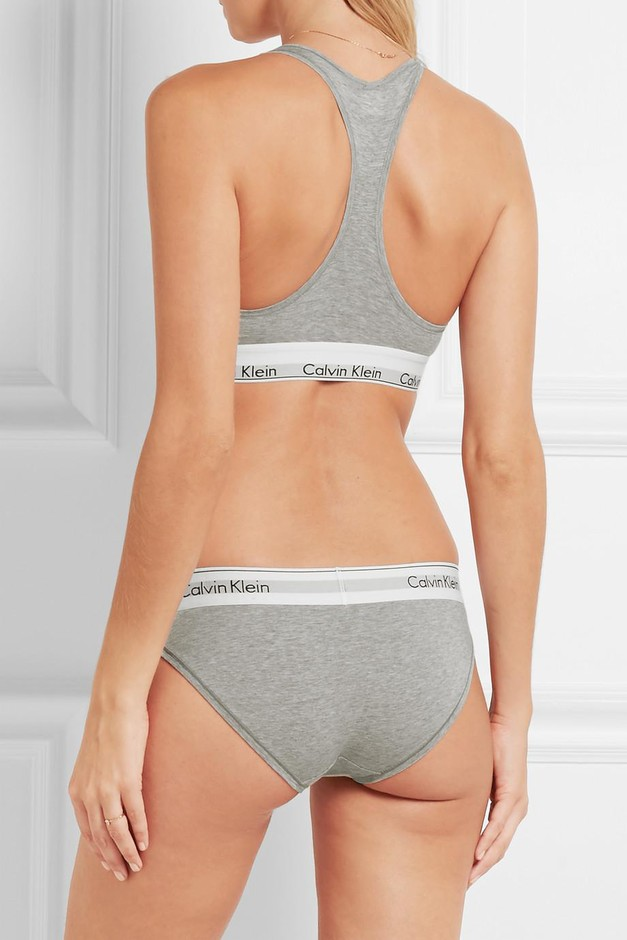 Calvin Klein Underwear | Modern Cotton stretch cotton-blend briefs | NET-A-PORTER.COM