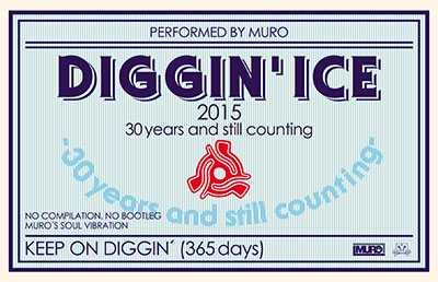 MURO/Diggin'Ice 2015 -30 years and still counting- Performed by MURO<タワーレコード限定> - TOWER RECORDS ONLINE