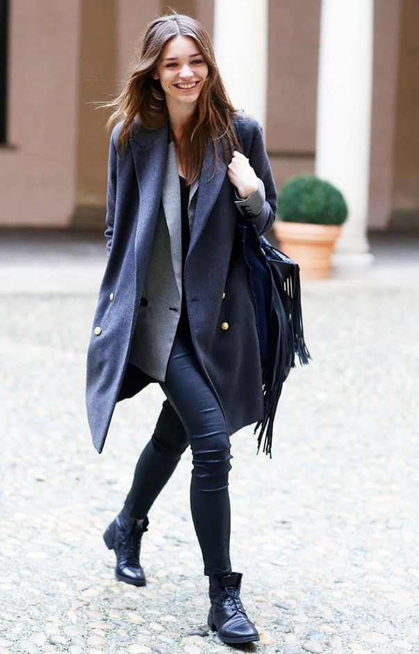 The Ultimate Guide to Layering Your Fall Coat | WhoWhatWear.com