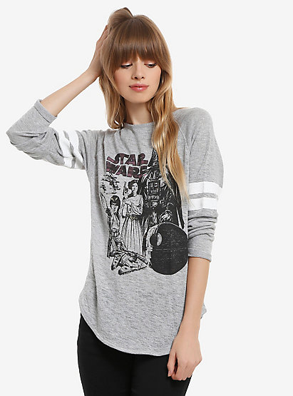 Star Wars Athletic Womens Pullover Top | BoxLunch