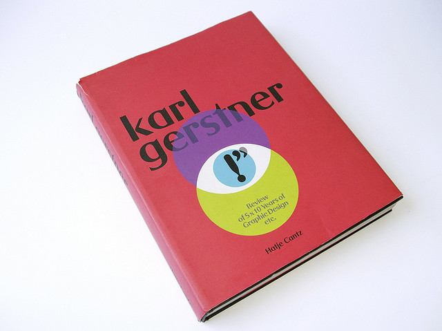 Karl Gerstner: Review of 5 X 10 Years of Graphic Design etc.   Flickr - Photo Sharing!