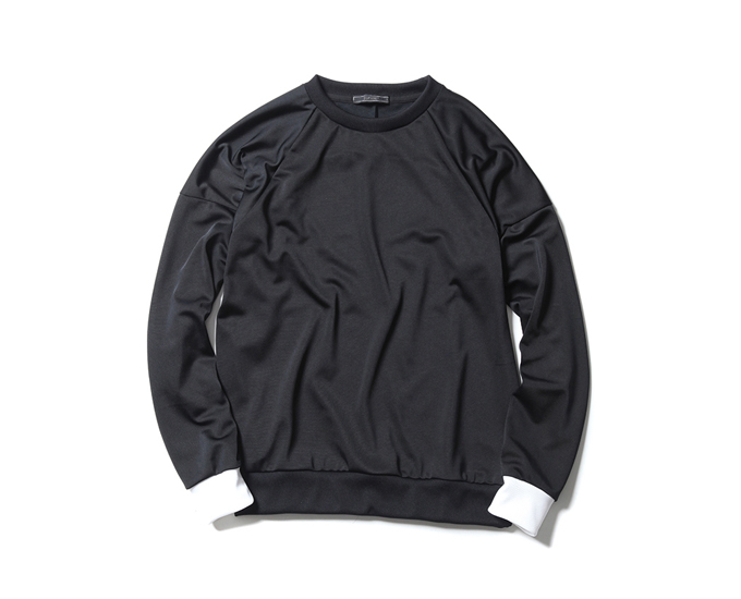 SOPHNET. | PRODUCT | POLYESTER JERSEY CREW NECK CUT & SEWN
