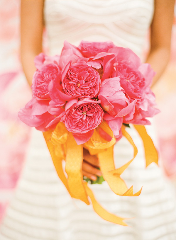 Inspired by These Citrus Orange + Pink Wedding Ideas | Inspired by This BlogInspired by This Blog