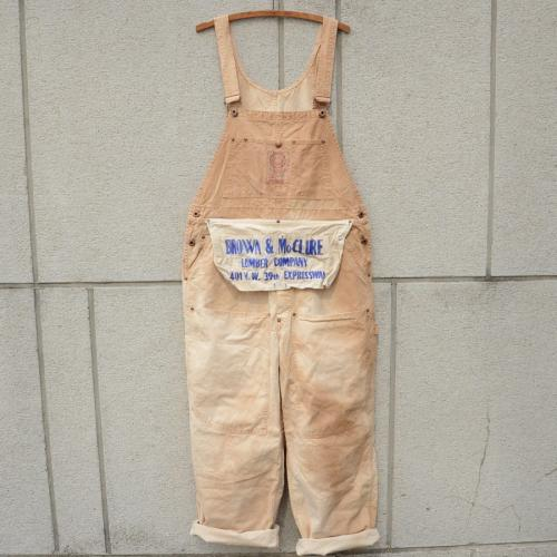 """BOUTIQUE HERMITAGE / A Love Movement/""""Remake Overall""""(柿渋染め)"""