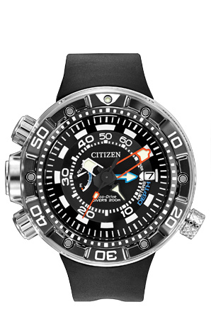 Citizen Citizen Eco-Drive Promaster Aqualand 200M Depth Meter BN2029-01E Promaster