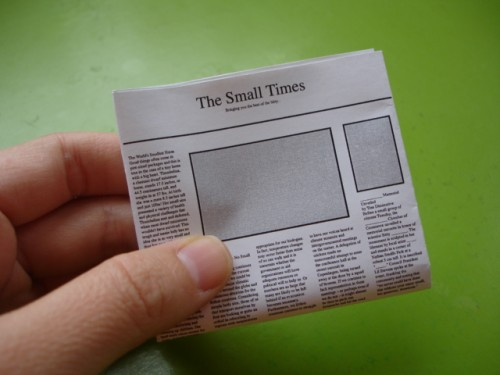 LeafClutter , Archive » The Making of The Small Times