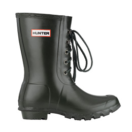 HUNTER ORIGINAL LACE (DARK OLIVE) / HUNTERBOOTS
