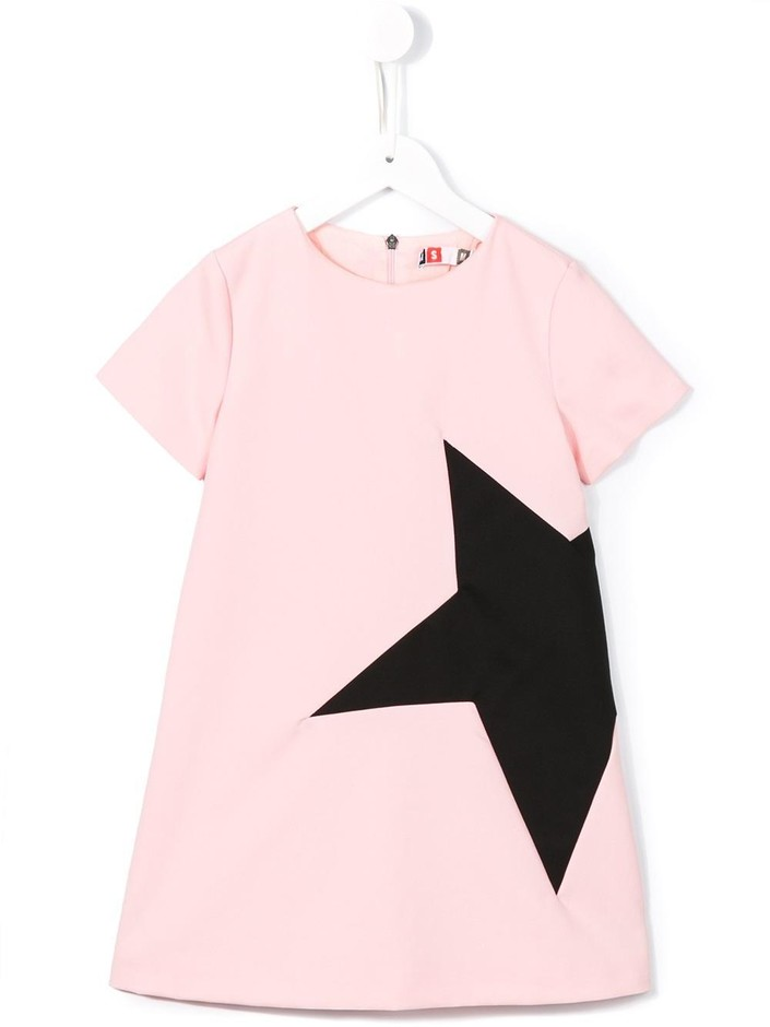 Msgm Kids Star Print T-shirt Dress - Stefania Mode - Farfetch.com