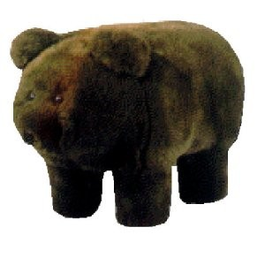Rocky the Kodiak Bear Ottoman | Shop fitness, wellness | Kaboodle