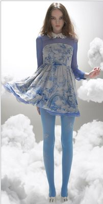 【LASO】Pre-Order!!!◆sretsis◆Windy Unicorn Dress・sky blue スレッシス