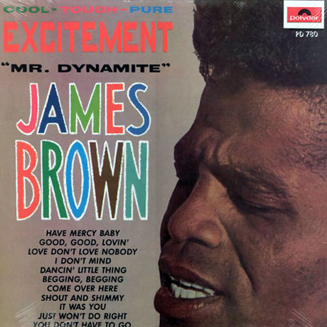 JAMES BROWN(LP) EXCITEMENT (MR. DYNAMITE)