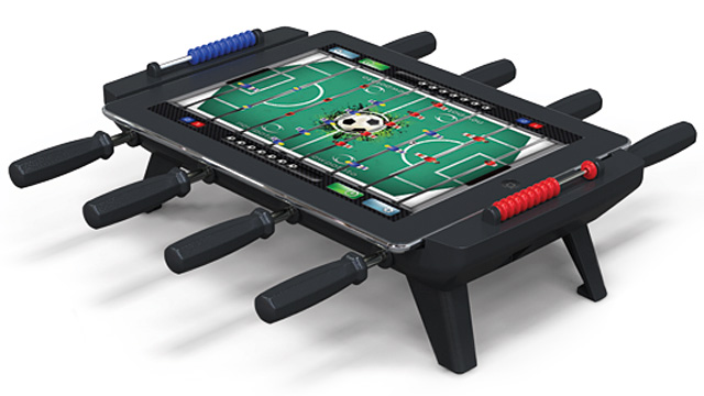 Classic Match Foosball game table accessory Apple iPad sync dock