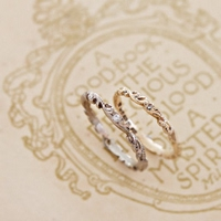 wedding rings {マリッジ・リング} - RUST made in england