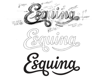 Dribbble - Esquina - Draft by Claire Coullon