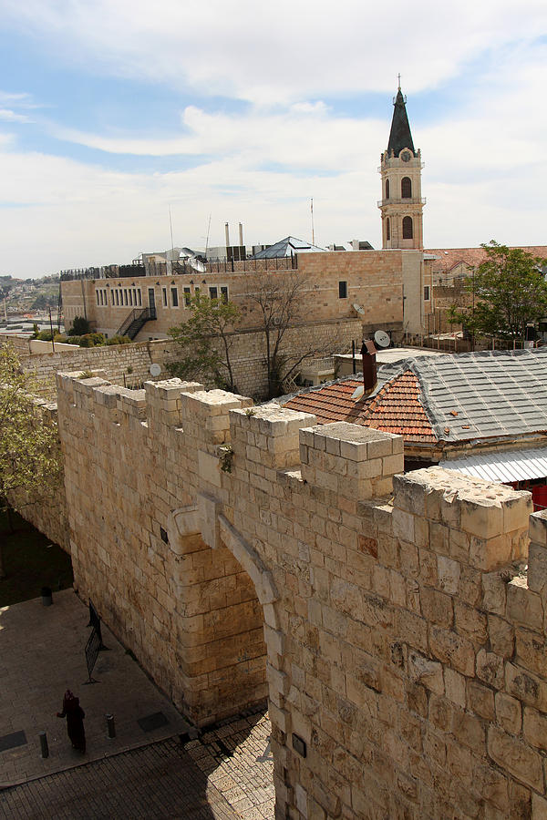 New Gate Of Jerusalem Old City Photograph by Munir Alawi - New Gate Of Jerusalem Old City Fine Art Prints and Posters for Sale