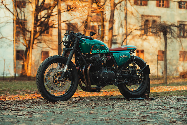 "CB 750 # 46 ""Green Arrow"" / NCT-Motorcycles"