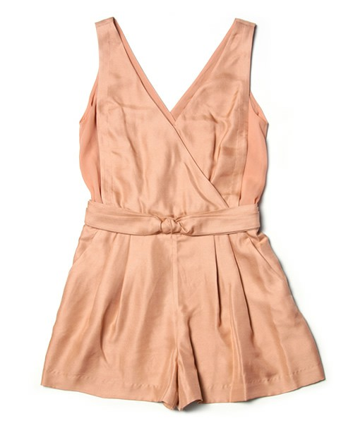 3.1 Phillip Lim WOMEN / sleeveless knot waist romper(サロペット・オーバーオール) - ZOZOVILLA