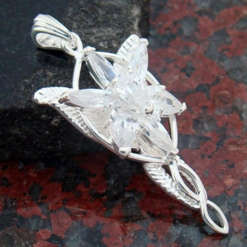 Arwen Evenstar Silver Plate Pendant Necklace with Chain | eBay