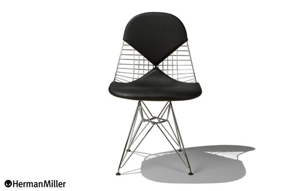 Eames Wire Chair DKR-2/Leather:デザイナーズ家具・インテリアの通販 hhstyle.com