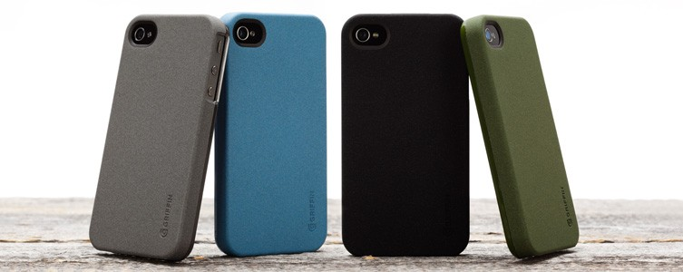 Outfit Flock: Soft-feel flocked surface for iPhone 4 and iPhone 4S - Griffin Technology