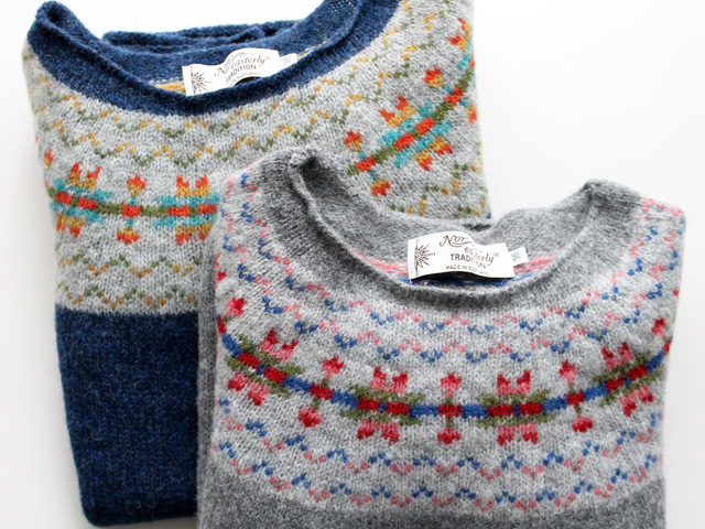 NOR'EASTERLY WIDE NECK NORDIC SWEATER -ナイモノねだり- 商品詳細 Strato