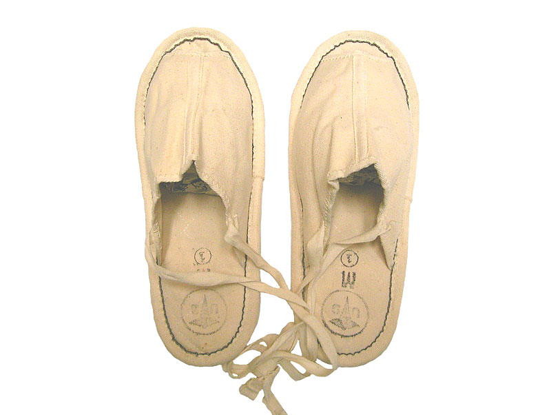 Deadstock 1969'S US.Military CANVAS SLIPPERS CONVALESECENT PATIENT'S - Luby's (ルビーズ)