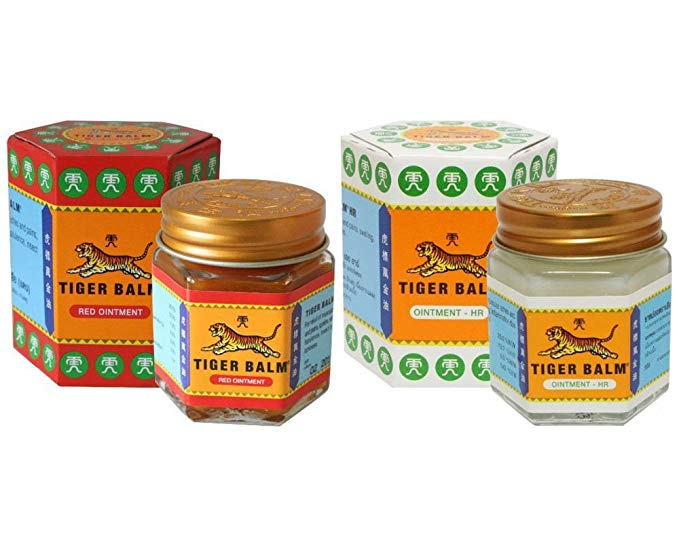 Tiger Balm Red Ointment 30g/Jar + Tiger Balm White Ointment 30g/Jar: Amazon.fr: Bébés & Puériculture