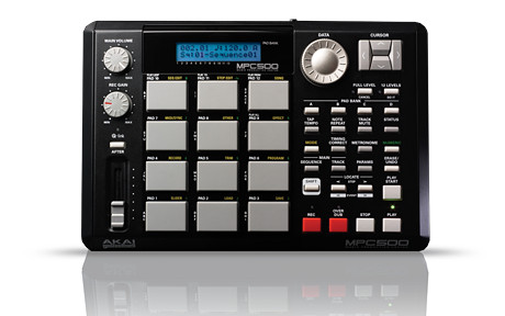 MPC500 Portable Production Workstation