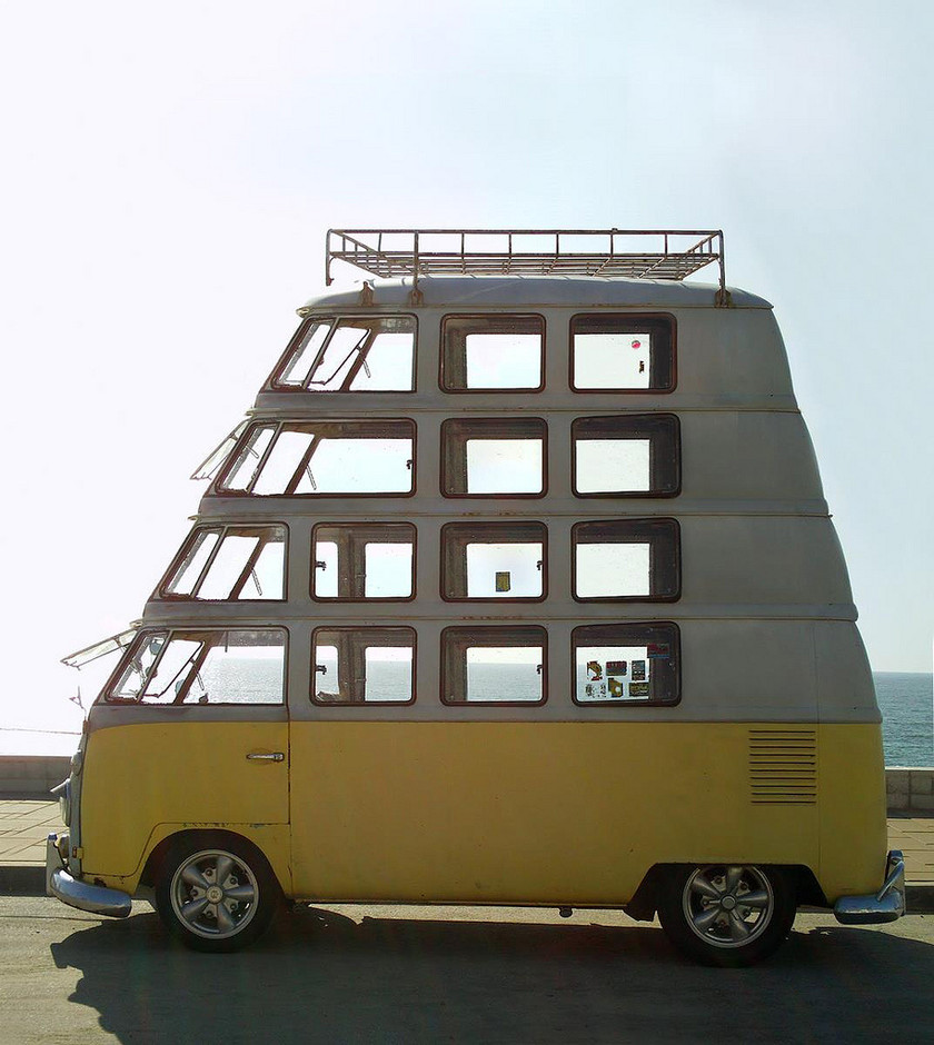 Many-decker VW Van | AnOther Loves