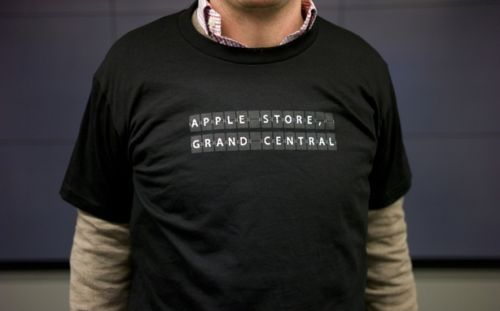 New in Unopened Box Apple Grand Central Black T-Shirt FREE SHIPPING Collectible | eBay
