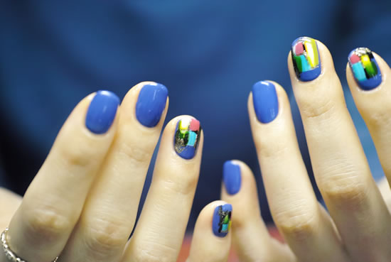 NAIL-COMMON: mix contemporary nail