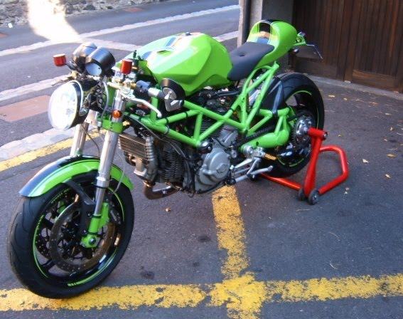 RocketGarage Cafe Racer: The Frog