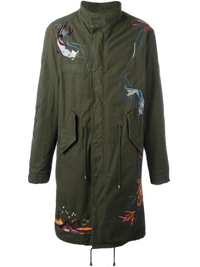 Amen Embroidered Military Coat  - Degli Effetti Men - Farfetch.com