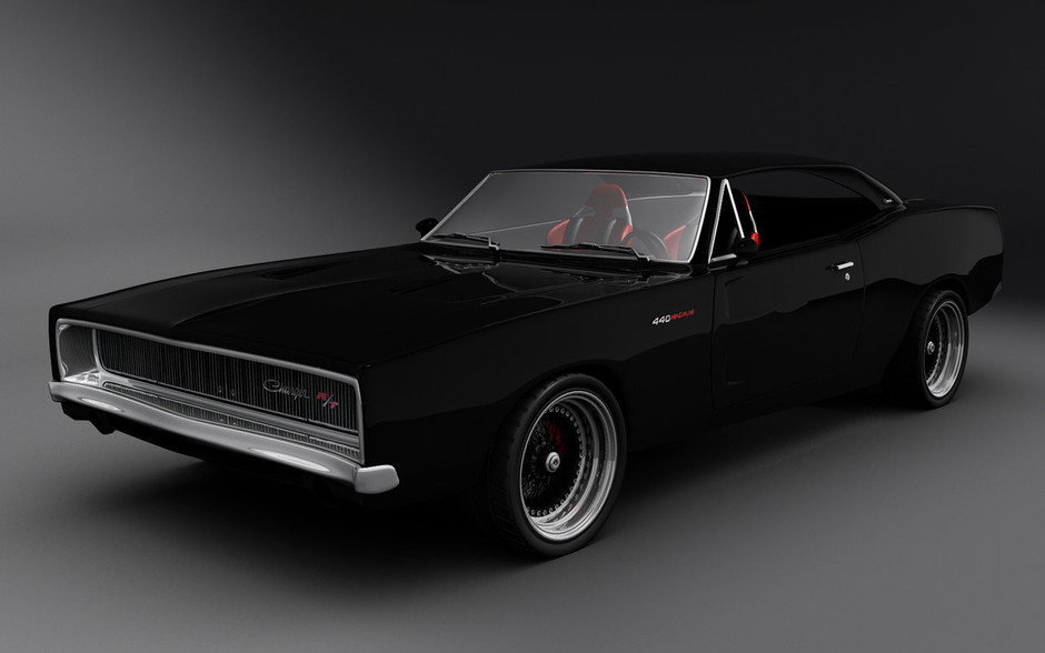Dodge Charger WIP by ~kErngesund on deviantART