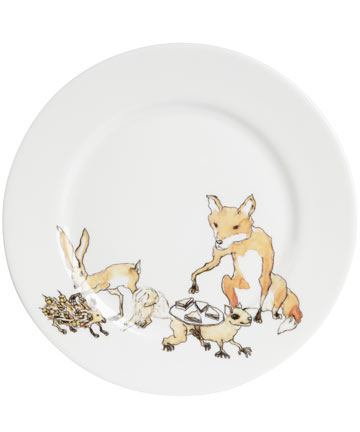 Animal Tea Party Side Plate, Mellor Ware