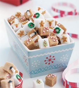 Handicrafts, Handmade, Independent Artisans / Decorated Sugar Cubes, great tutorial...I just love these