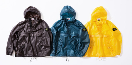 Poly Cover Composite Anorak
