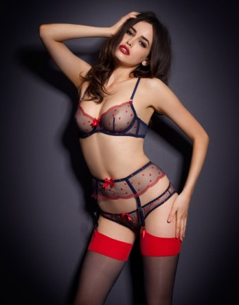 Red Passionate by Agent Provocateur - Winnie Bra