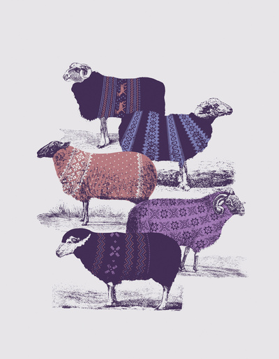 Cool Sweaters Art Print by Jacques Maes | Society6